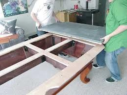 Pool table moves in Concord North Carolina