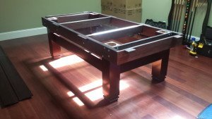 Correctly performing pool table installations, Concord North Carolina